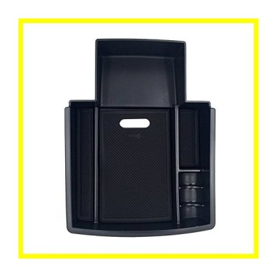 送料無料 Carmonsons for アウディ A4 A5 S5 B8 2009-2016 Car Console Central アームレスト Storage Box Container Tray Car Organizer Accesso
