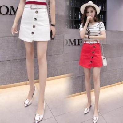 原宿系ファッション レディース ミニスカート オールシーズン カジュアル レディース 大きいサイズ 韓国 ファッション 夏 スカート 春