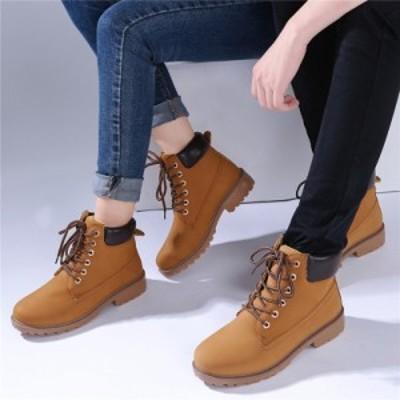 秋新作 靴 レディース メンズ ブーツ レディース 靴 スノーブーツ シューズ メンズ スニーカー おしゃれ ブーツ 滑り止め 靴 大きいサイ