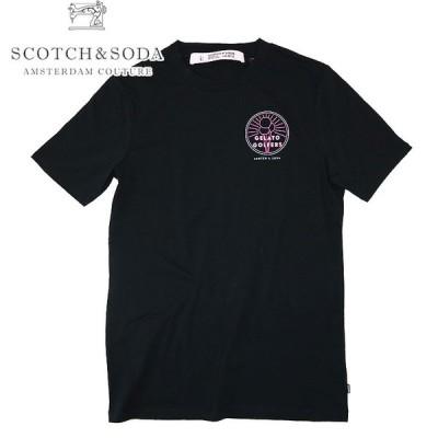 【SCOTCH&SODA】スコッチアンドソーダ Gelato Golfer Art T-Shirt 半袖Tシャツ オリジナルデザイン プリント カジュアル
