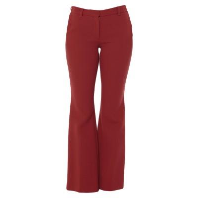 ロートレ ショーズ L' AUTRE CHOSE パンツ 赤茶色 40 ウール 100% パンツ