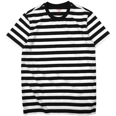 メンズ 半袖 Tシャツ ボーダー クルーネック(s2103100010)