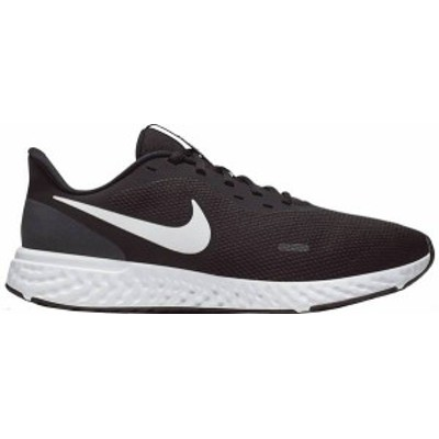 ナイキ メンズ スニーカー シューズ Nike Men's Revolution 5 Running Shoes Black/White/Silver