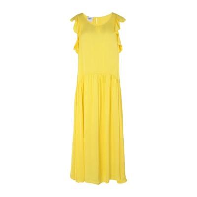 PEPITA 7分丈ワンピース・ドレス イエロー 42 レーヨン 61% / レーヨン 39% 7分丈ワンピース・ドレス