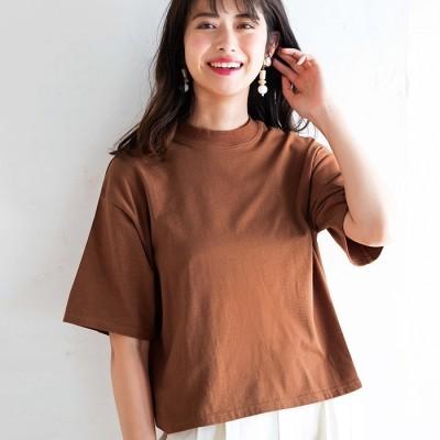 GeeRA 【3L】綿混素材ボックスシルエットTシャツ ブラック 3L レディース