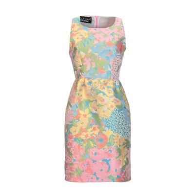 BOUTIQUE MOSCHINO ミニワンピース&ドレス ピンク 40 ポリエステル 100% / コットン ミニワンピース&ドレス