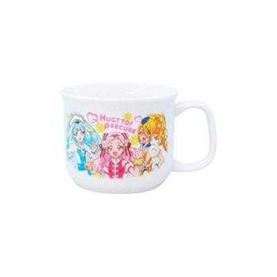 「 HUG(はぐ)っとプリキュア 」 キャラクターズ マグカップ 140g 子供用 食器 白 036322
