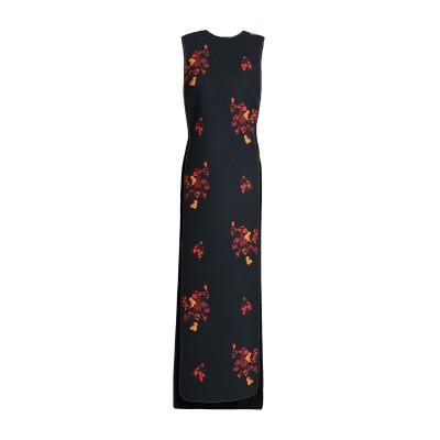 エラリー ELLERY ロングワンピース&ドレス ブラック 4 ポリエステル 100% ロングワンピース&ドレス
