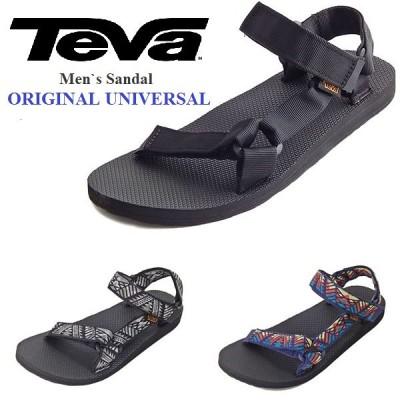 TEVA テバ サンダル メンズ オリジナルユニバーサル 1001040 1004006 アウトドア スポーツ ストラップ おしゃれ 軽量 黒 ブラック original universal ビーチ
