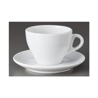 カップ&ソーサー プリートラテ碗と受皿 [D9 x 6.6cm 210cc]  料亭 旅館 和食器 飲食店 業務用