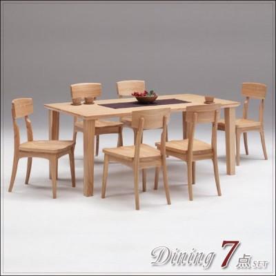 ダイニングテーブルセット 6人用 ダイニングセット 7点セット