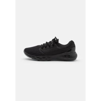 アンダーアーマー メンズ ランニング スポーツ CHARGED VANTAGE - Neutral running shoes - black black