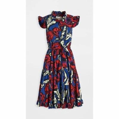 ラダブルジェー La Double J レディース ワンピース ワンピース・ドレス short and sassy dress Big Blooms