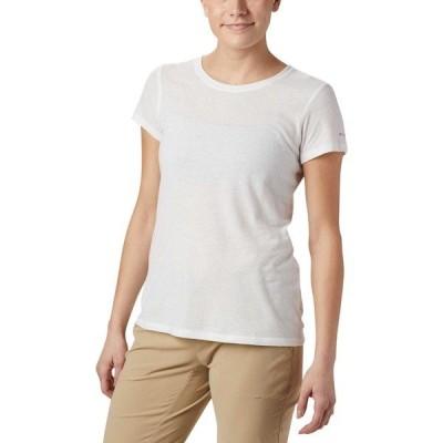 コロンビア シャツ トップス レディース Columbia Women's Solar Shield T-Shirt White
