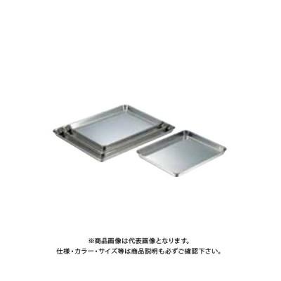 TKG 遠藤商事 18-8角盆 小 AKK10003 7-0138-0806