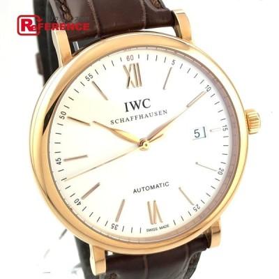 IWC インターナショナルウォッチカンパニー 356504 ポートフィノ オートマチック 腕時計 ピンクゴールド メンズ  未使用【中古】