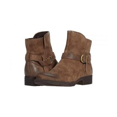 Born ボーン レディース 女性用 シューズ 靴 ブーツ アンクル ショートブーツ Syd - Taupe Distressed 2