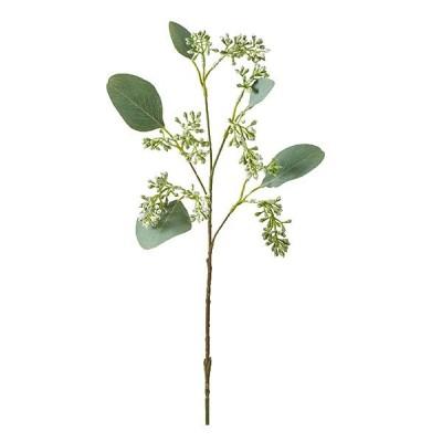 《 造花 グリーン 》◆とりよせ品◆花びし ユーカリベリー ホワイト/グリーン