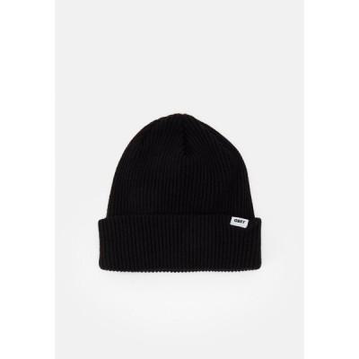 オベイ 帽子 メンズ アクセサリー UNISEX - Beanie - black