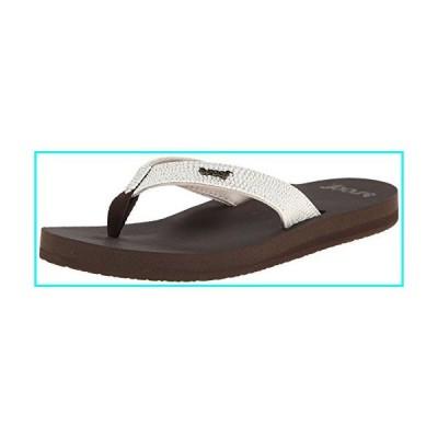 [リーフ] Women's Mia Sassy Sandal - 7M - Brown/White