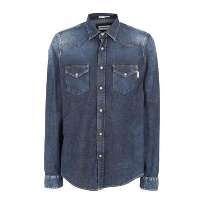 ロイ ロジャース ROŸ ROGER'S デニムシャツ ブルー L コットン 98% / ポリウレタン 2% デニムシャツ