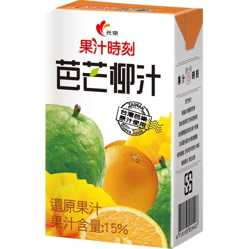 光泉果汁時刻芭芒柳汁TP250ml