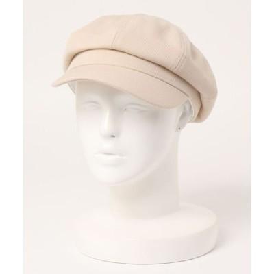 帽子 キャスケット ツイル素材 8パネルキャスケット