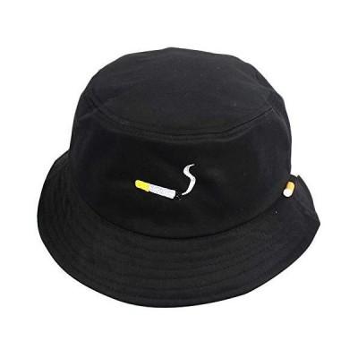 ユニセックス パッカブル ファッション 帽子 夏 旅行 バケツ ビーチ サンハット シガレット 刺繍 ストリートビター アウトドアキャップ US サイ