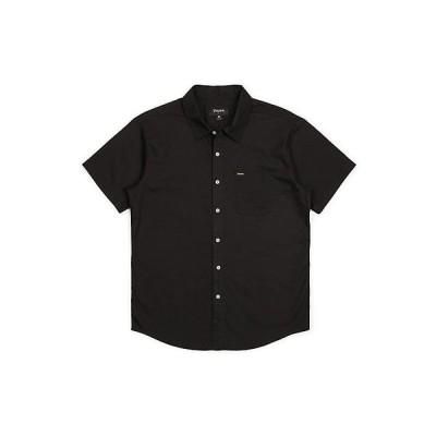 ブリクストン シャツ メンズ トップス Brixton Men's Charter Oxford SS Shirt Black