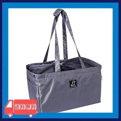 買い物カゴ用バッグ 約32L 大容量 エコバッグ ショッピングバッグ 折りたたみ 外ポケット付き 巾着 レジかごぴ