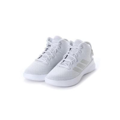 ラナン Ranan (adidas)リフレッシュミッドスニー (ホワイト)