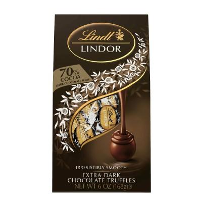 Lindt 70%ココアエクストラダークチョコレートトリュフ-6oz