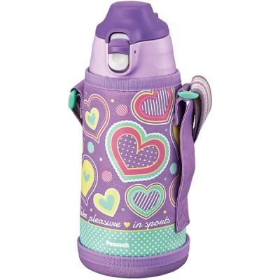 ピーコック魔法瓶工業 マグボトル ステンレスボトル 2WAYタイプ パープルハート 0.8L ASG-W81 AVH