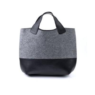 FEYNSINN top-Handle Tote Bag Freya XL Handbag Real Leather Shopper Leather Bag Women´s Bag Black 並行輸入品