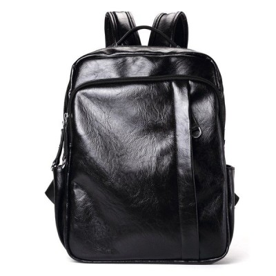PUレザー バッグ リュックサック 通勤 通学 大容量 鞄 旅行 アウトドア パソコン PC収納 リュック メンズ バッグ ビジネスバッグ カジュアル シンプル 韓国風