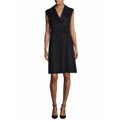 マックスマラ レディース ワンピース Etruria Wool Wrap Dress