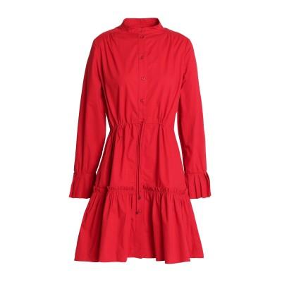 サローニ SALONI ミニワンピース&ドレス レッド 12 紡績繊維 ミニワンピース&ドレス