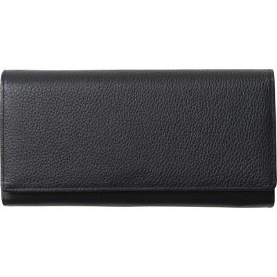 シュリンクレザー長財布 ブラック S-NOL153120BK