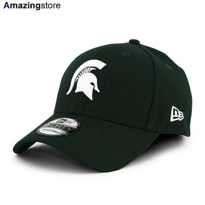 ニューエラ 9FORTY ミシガンステイト スパルタンズ 【NCAA THE LEAGUE ADJUSTABLE CAP/GREEN】 NEW ERA MICHIGAN STATE SPARTANS