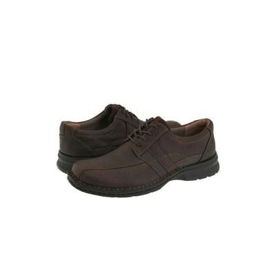 クラークス Espace メンズ オックスフォード Brown Oily Leather