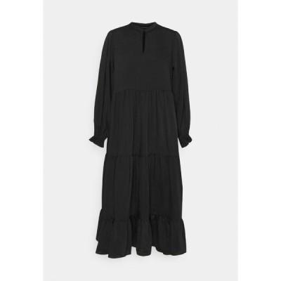 ブルンスバザー ワンピース レディース トップス EMILLEH RAVEN DRESS - Maxi dress - black