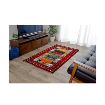 イケヒコ・コーポレーション トルコ製ウィルトン織カーペット『イビサ』/2348309 レッド/80×140cm