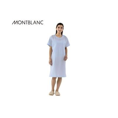 MONTBLANC 59-502 検診衣かぶり式(半袖)(男女兼用) ナースウェア・白衣・介護ウェア