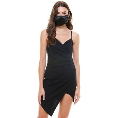 エメラルドサンデー レディース ワンピース トップス Juniors' Asymmetrical Dress & Face Mask