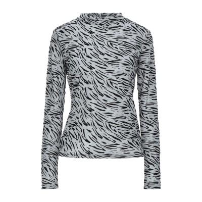 ゲス GUESS T シャツ ライトグレー XS ポリエステル 60% / レーヨン 40% / ナイロン T シャツ