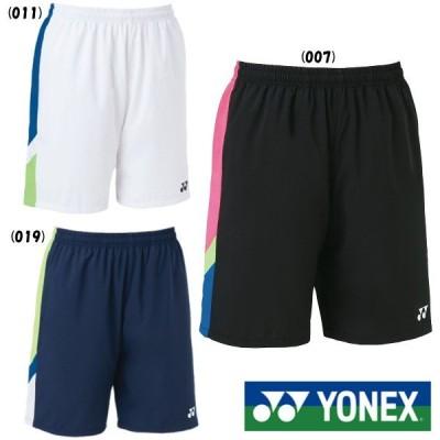《送料無料》YONEX ユニセックス ハーフパンツ 15092 ヨネックス テニス バドミントン ウェア