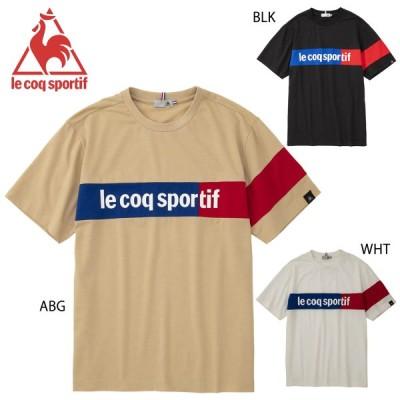 le coq sportif QLMPJA04 半袖Tシャツ ライフスタイル ウェア(メンズ) ルコックスポルティフ 2020春夏 【メール便可/ 取り寄せ】