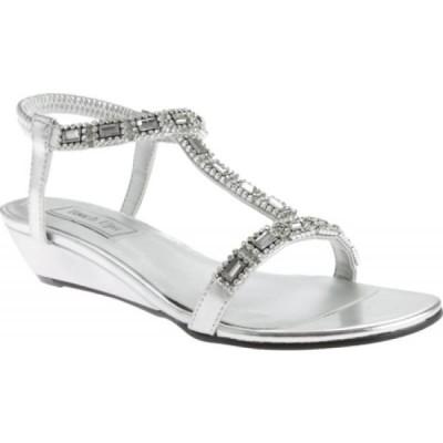 タッチアップス Touch Ups レディース サンダル・ミュール シューズ・靴 Jazz Silver Metallic