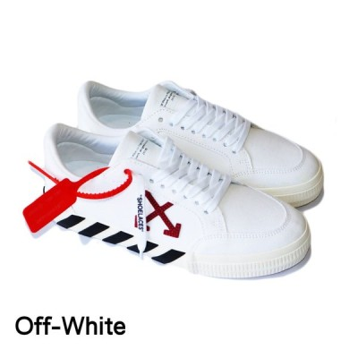 off-white オフホワイト メンズ スニーカー キャンバス ホワイト