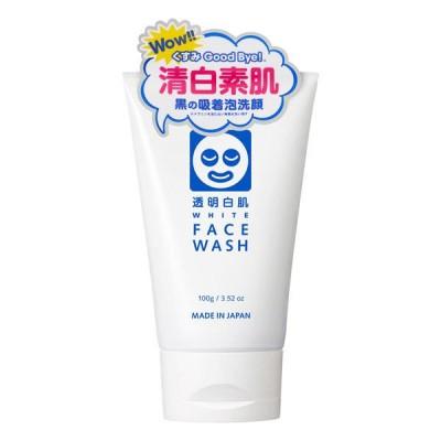 透明白肌 ホワイトフェイスウォッシュ (洗顔フォーム) 100g 石澤研究所